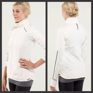 Lululemon Can't Stop Jacket Cream Stripe 4